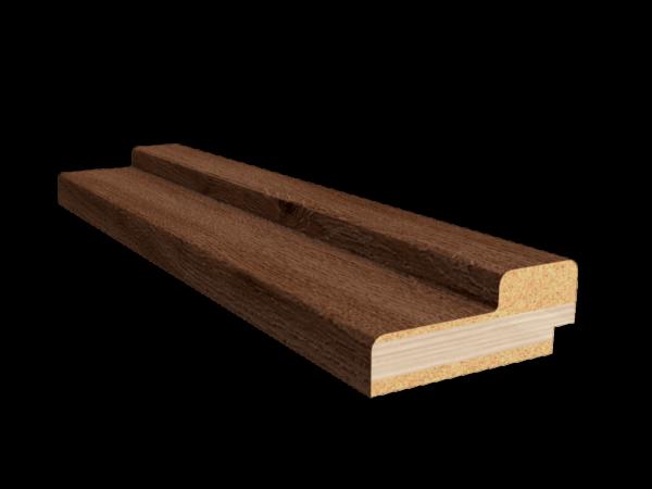 Коробочный брус темный орех
